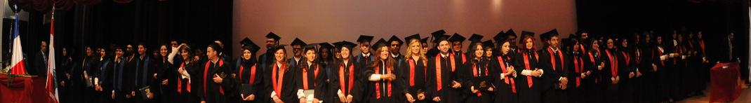Cérémonie de remise des diplômes au Cnam Liban
